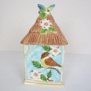 Susan Winget Cracker Barrel Bird Canister